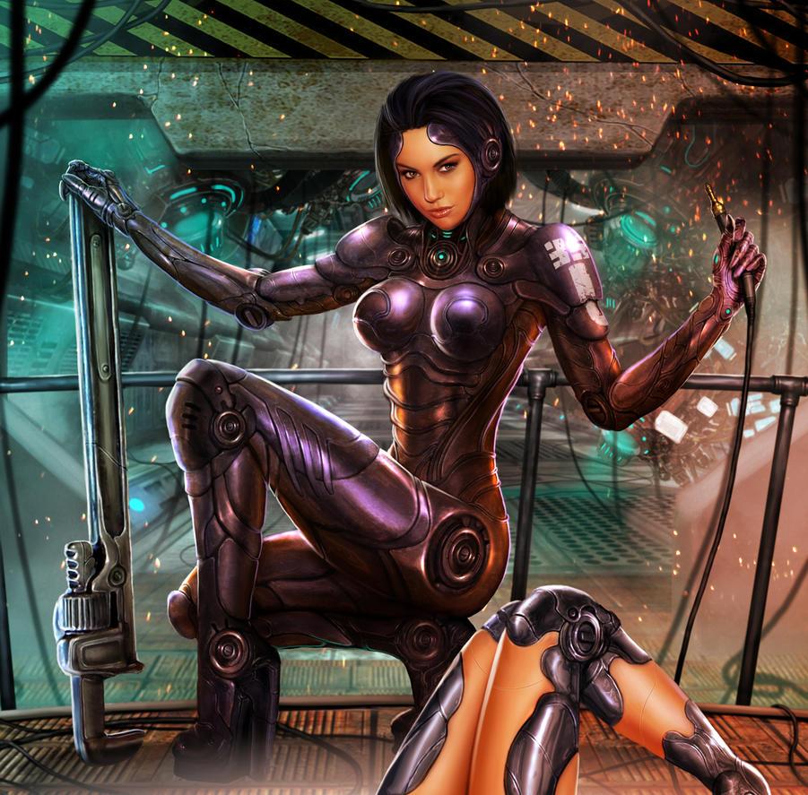 HARDWIRE_NIKOLLET MK2_Battle Angel MK2 by tariq12