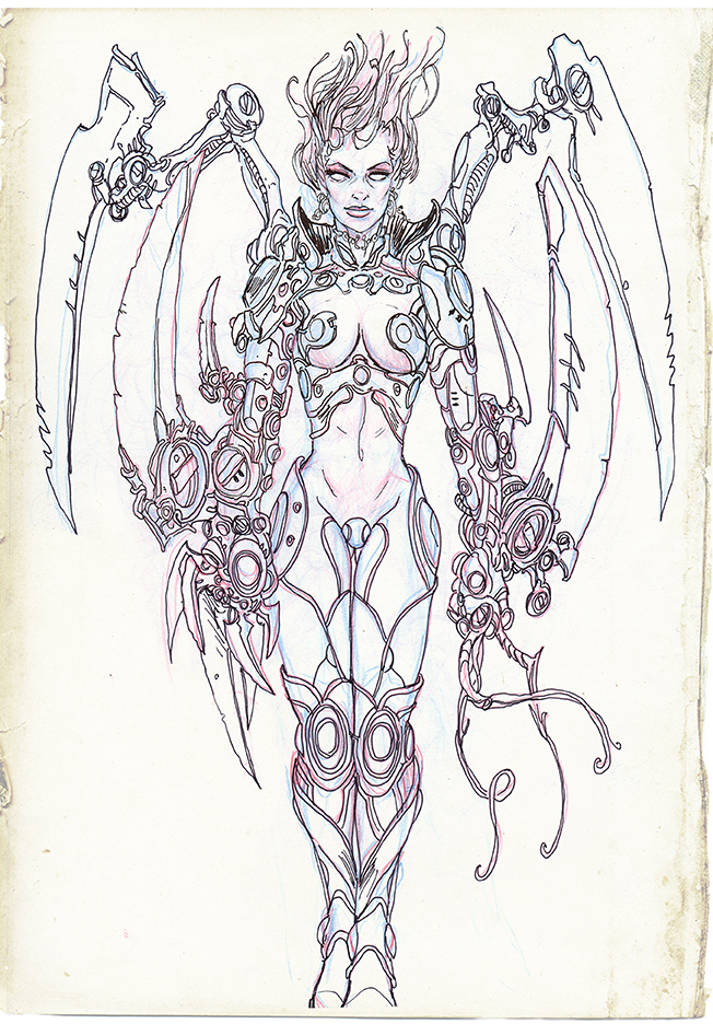 Metal Angel by tariq12
