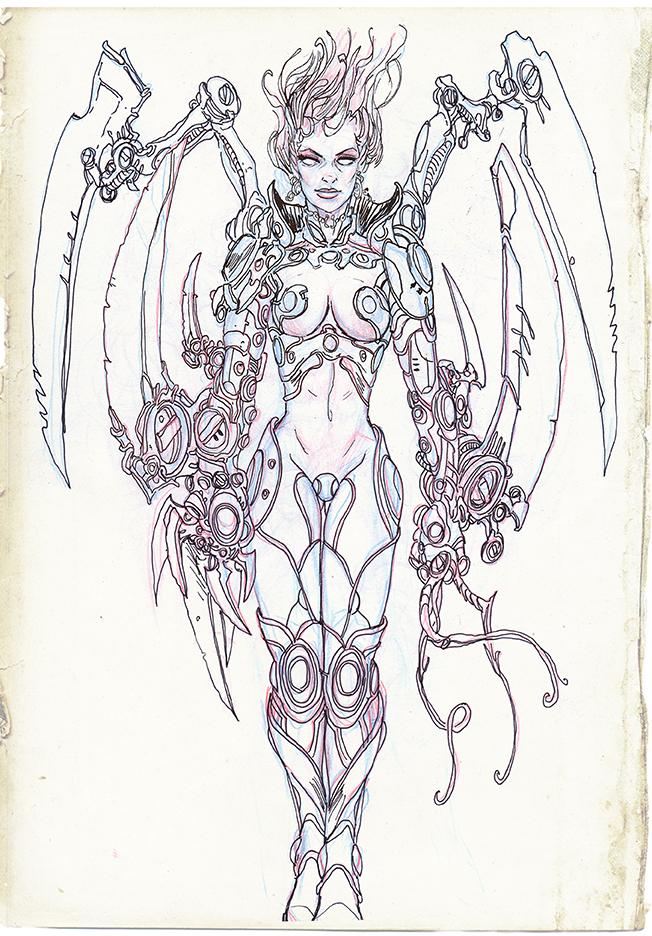 Metal Angel by tariq12