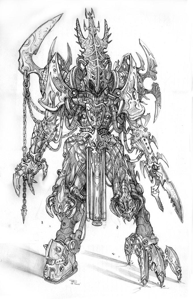 Gojar the Reaper. by tariq12