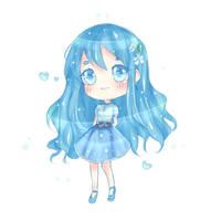Bluue by Anna-draws