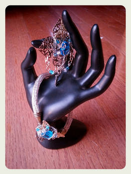 Betty's broach and bracelet