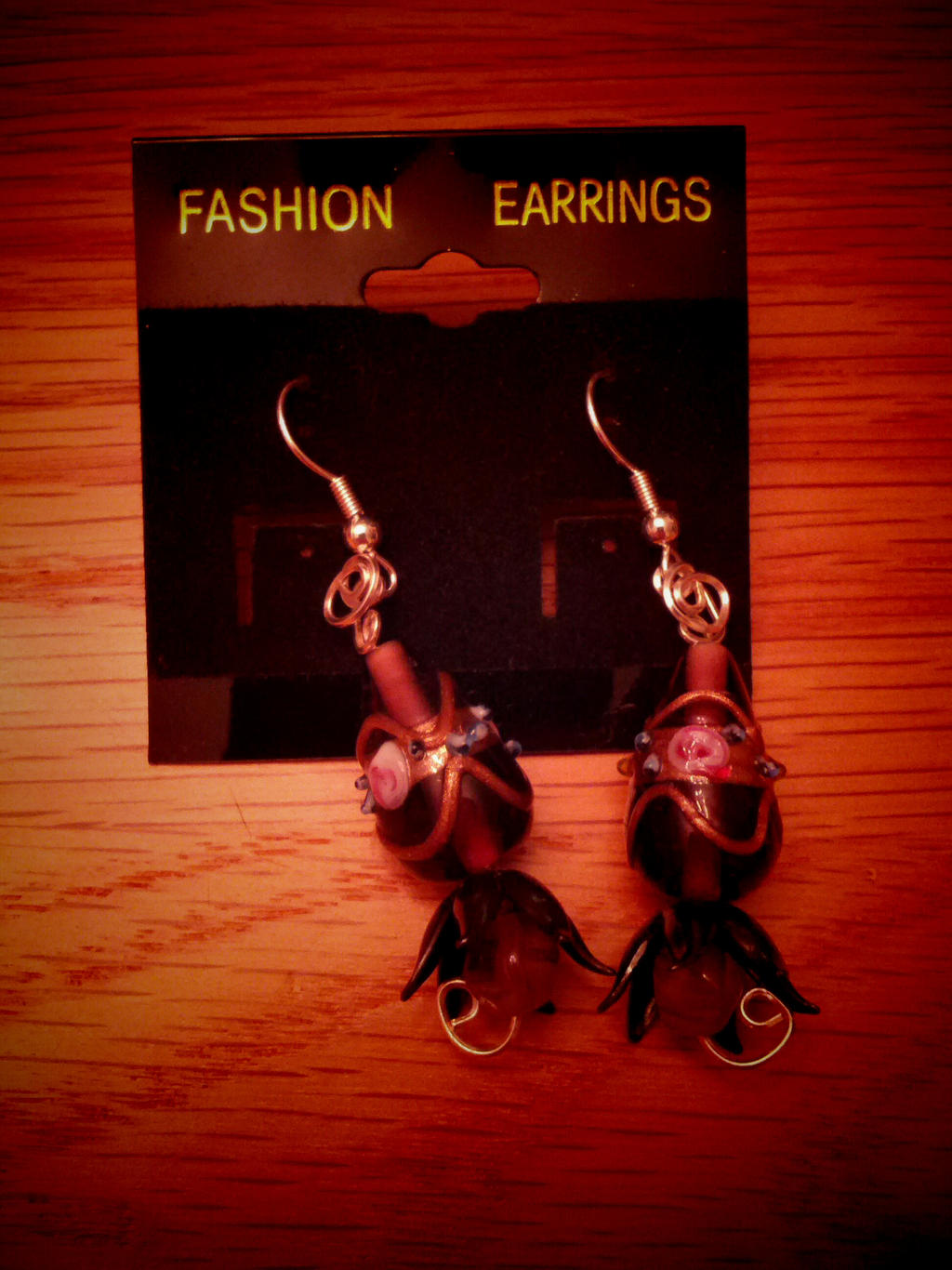 Pat's earrings
