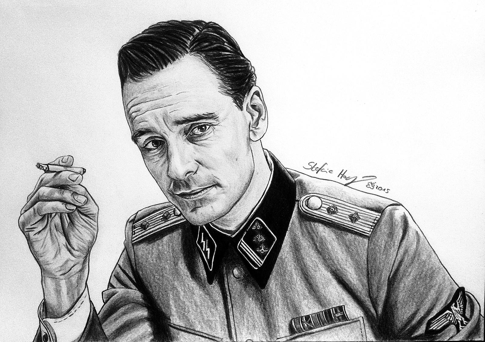 Michael Fassbender - Inglourious Basterds (BW) by ...