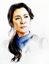 Michelle Yeoh - Philippa Georgiou - Star Trek DSC by Larkistin89