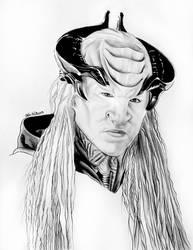 Tenavik - Star Trek Discovery  by Larkistin89