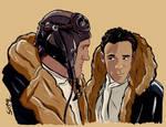OBrien and Bashir - Star Trek DS9