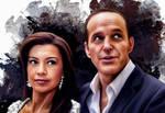 Phil Coulson and Melinda May - Agents of SHIELD