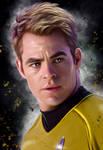 Chris Pine - Captain Kirk - Star Trek