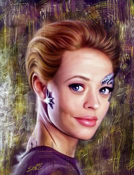 Jeri Ryan - Seven of Nine - Star Trek Voyager