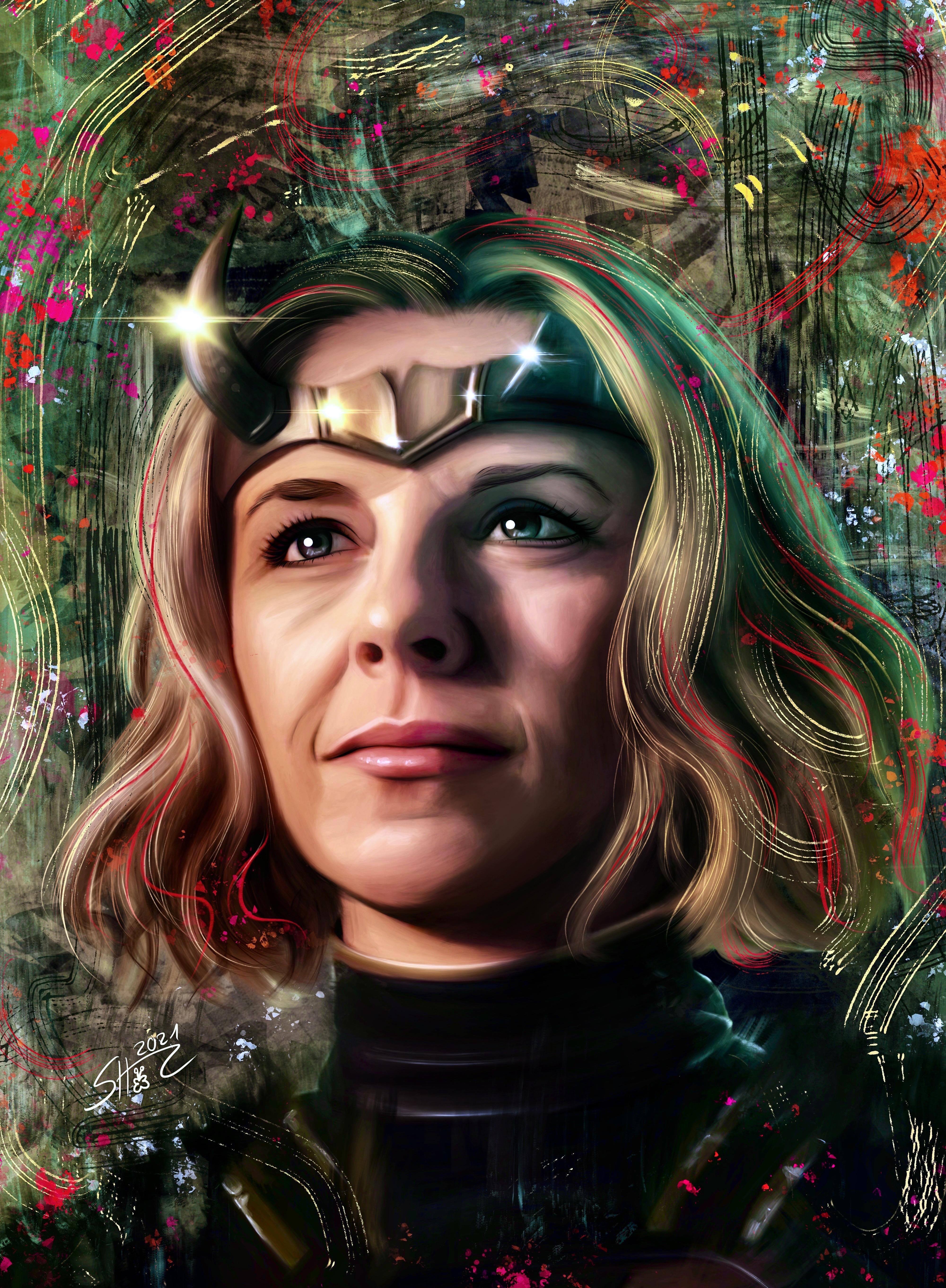 Sylvie - Loki - Marvel - Sophia Di Martino