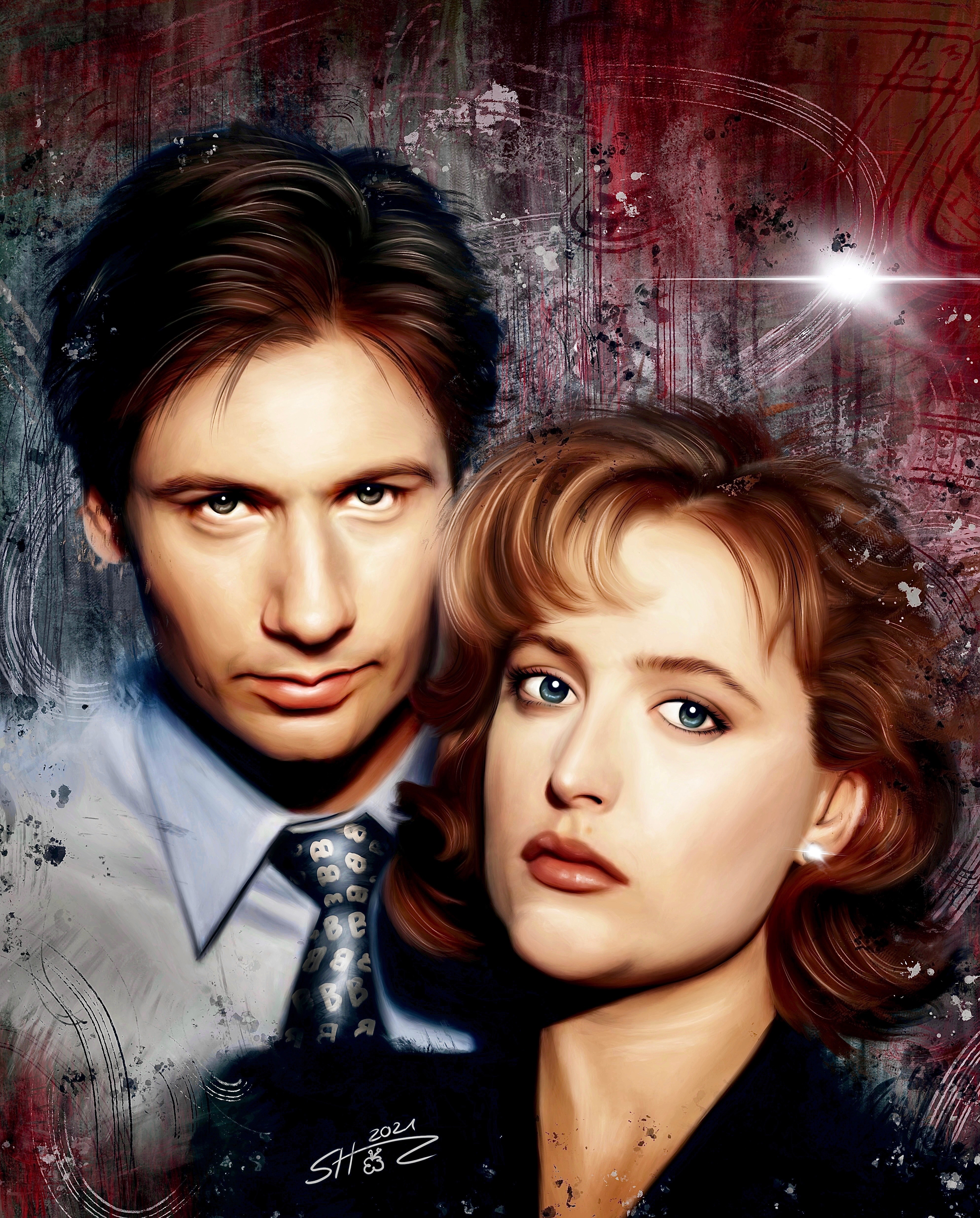 Mulder  Scully - X-Files