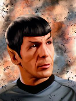 Leonard Nimoy - Mr Spock - Star Trek TOS