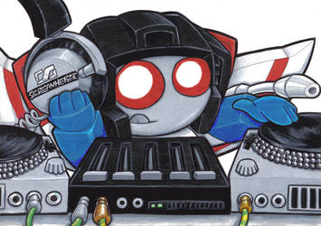dj starscream by prisonsuit-rabbitman