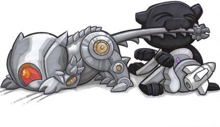 catfight by prisonsuit-rabbitman