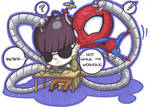 wee octopus and spider