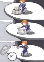 toss by prisonsuit-rabbitman