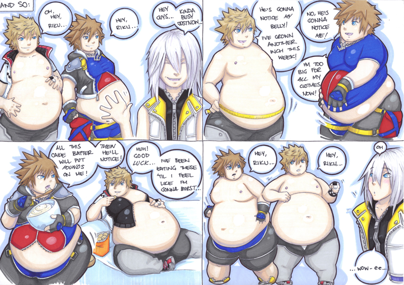 gaining sora and roxas part 1, page 2 by prisonsuit-rabbitman