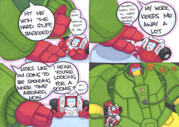 swerve and cosmos thing by prisonsuit-rabbitman
