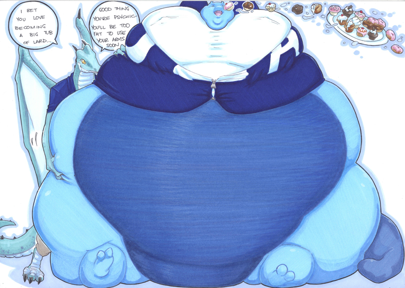 Fat Fur Weight: Psychic Gain Part 3 By Prisonsuit-rabbitman On DeviantArt