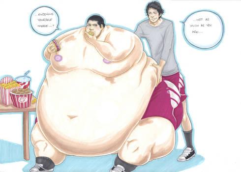 'not so skinny, defenceless, stiles' part 3