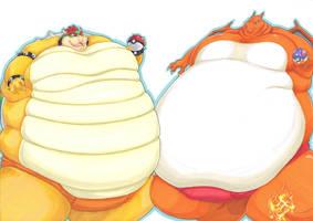 sumo smash bros 5 by prisonsuit-rabbitman