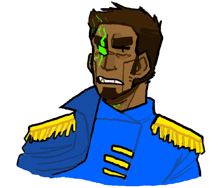 nuclear throne oc! captain aki korhonen! by pokeytard