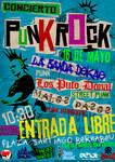 CONCIERTO PUNK ROCK