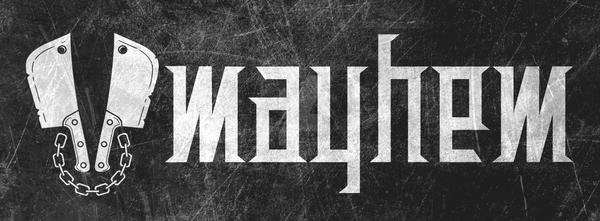 Mayhem Logo by elhot