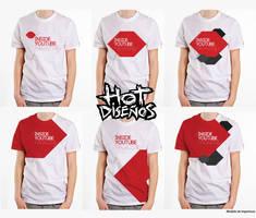 Camisetas Inside Youtube Magazine by elhot