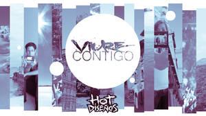 Logotipe Viure Contigo by elhot