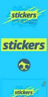 Logotype Stickers Radio by elhot