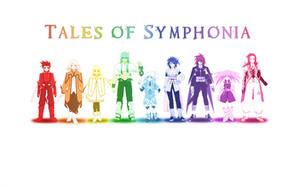 Tales of Symphonia Rainbow by akuinnen24