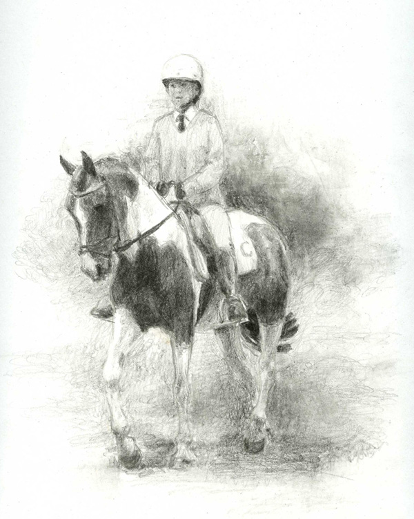 'Tess' Speed Sketch by akuinnen24