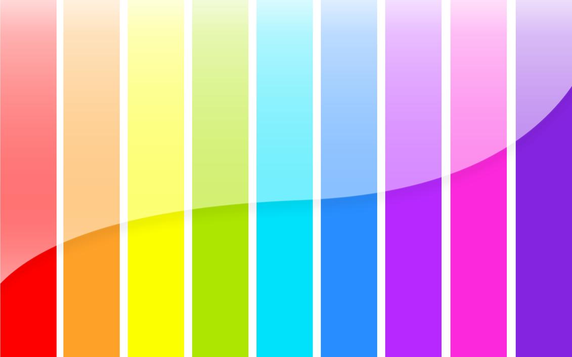Картинки цвета радуги по порядку 2