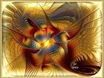 Golden Dancing Dragon