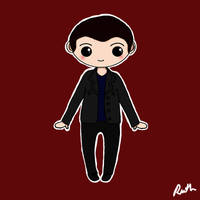 Ninth Doctor Chibi by xoxRufus