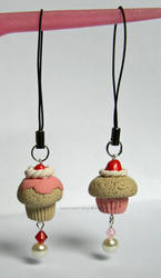 More Cupcake Phone Charms x