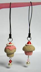 More Cupcake Phone Charms x