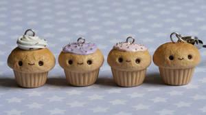 Kawaii Cupcake Charms