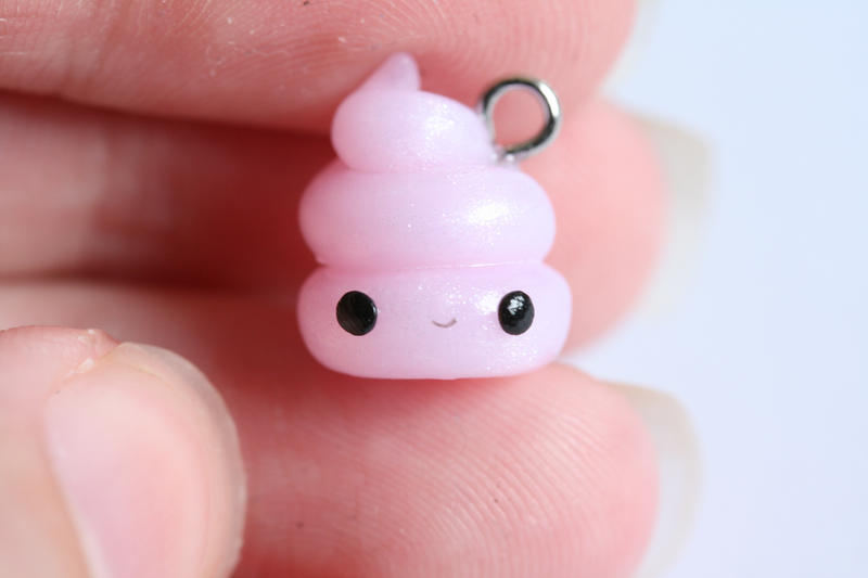 Pretty Poop Polymer Clay Charm By Xoxrufus On Deviantart