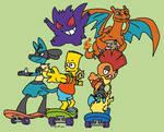 Pokemon Trainer Team: Bart Simpson