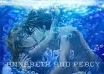 Percy and Annabeth kissing
