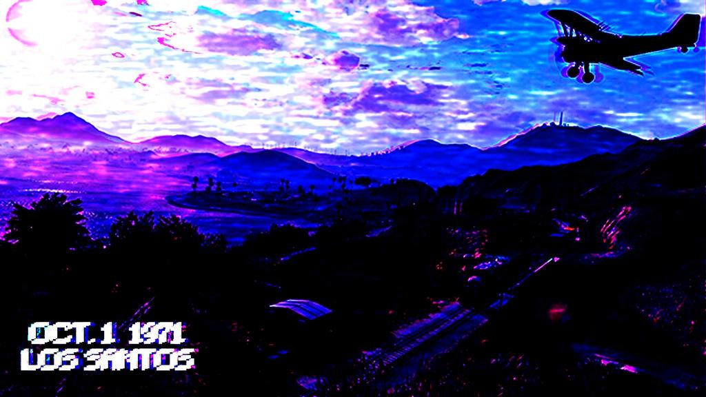 Aesthetic Vaporwave Lofi Wallpaper Background By Bwestthefox