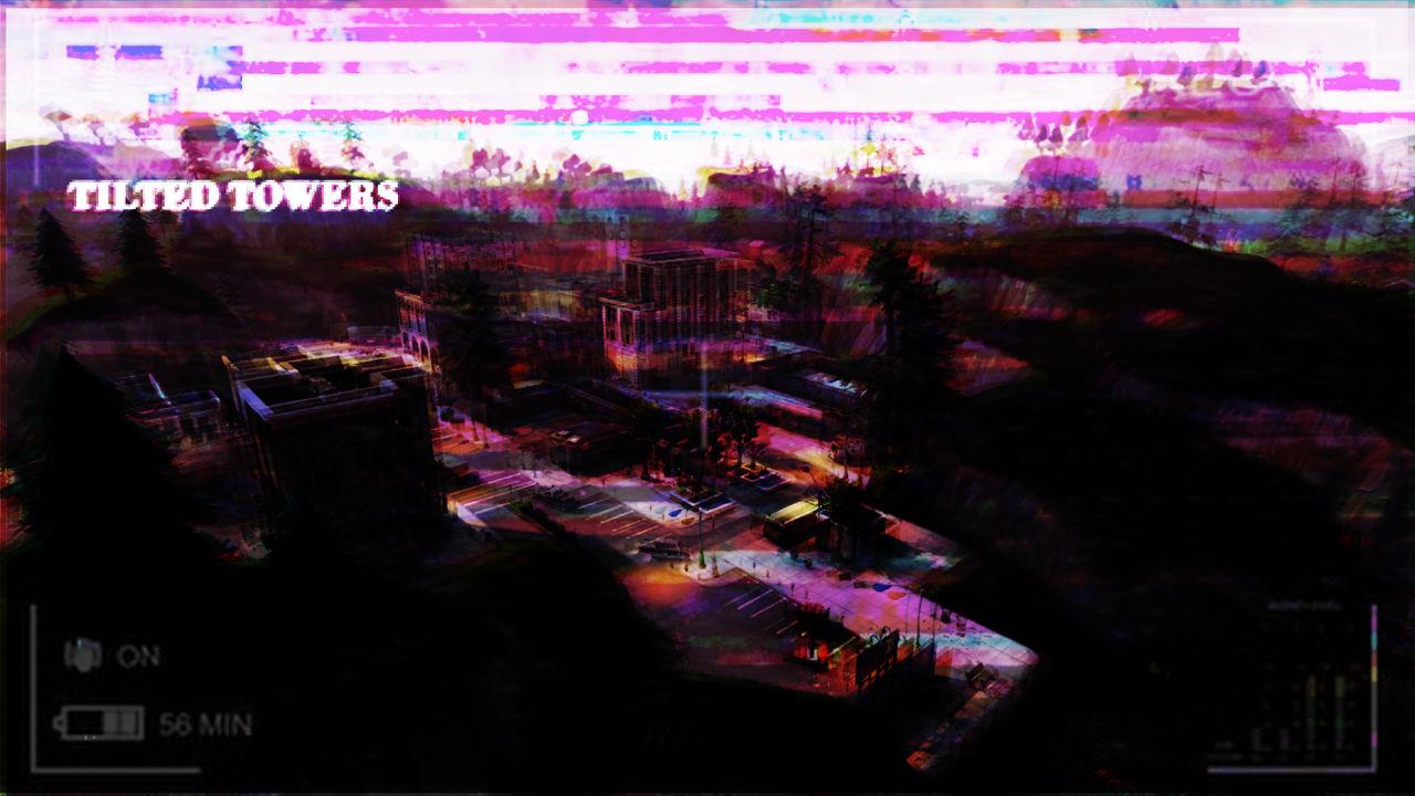 Tilted Towers Aesthetic Lofi Fortnite Wallpaper By