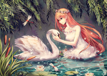 Swan Serenade by Illycia