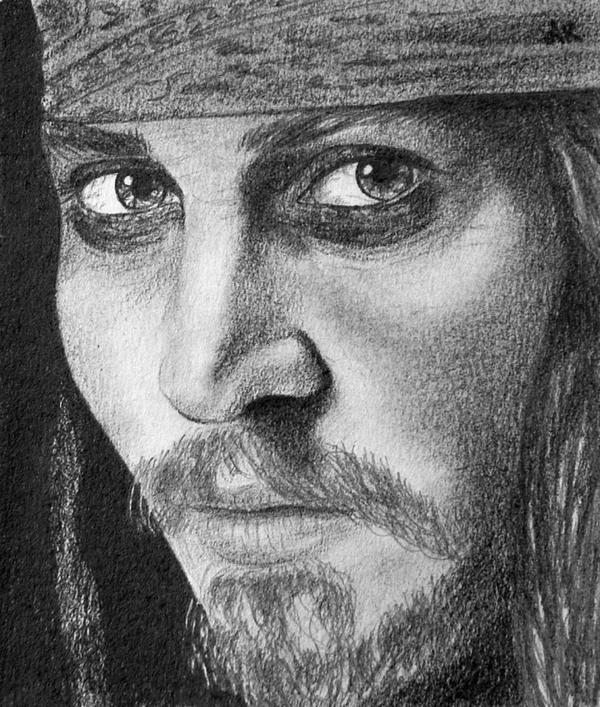Captain Jack Sparrow by AmaliaKay