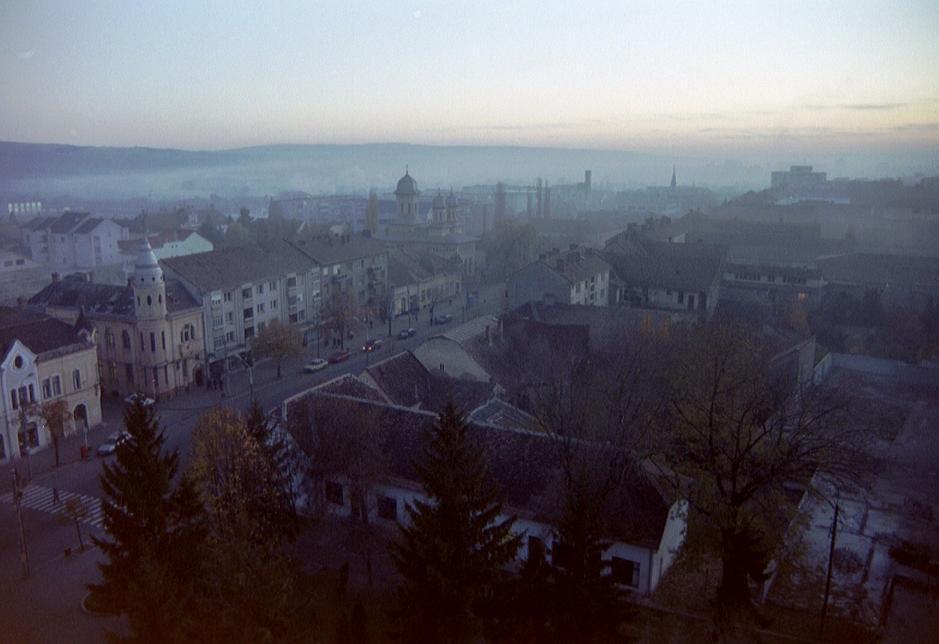 Morning over Tirnaveni by Gert-IJ