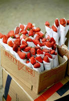 Strawberry's in the street by Gert-IJ
