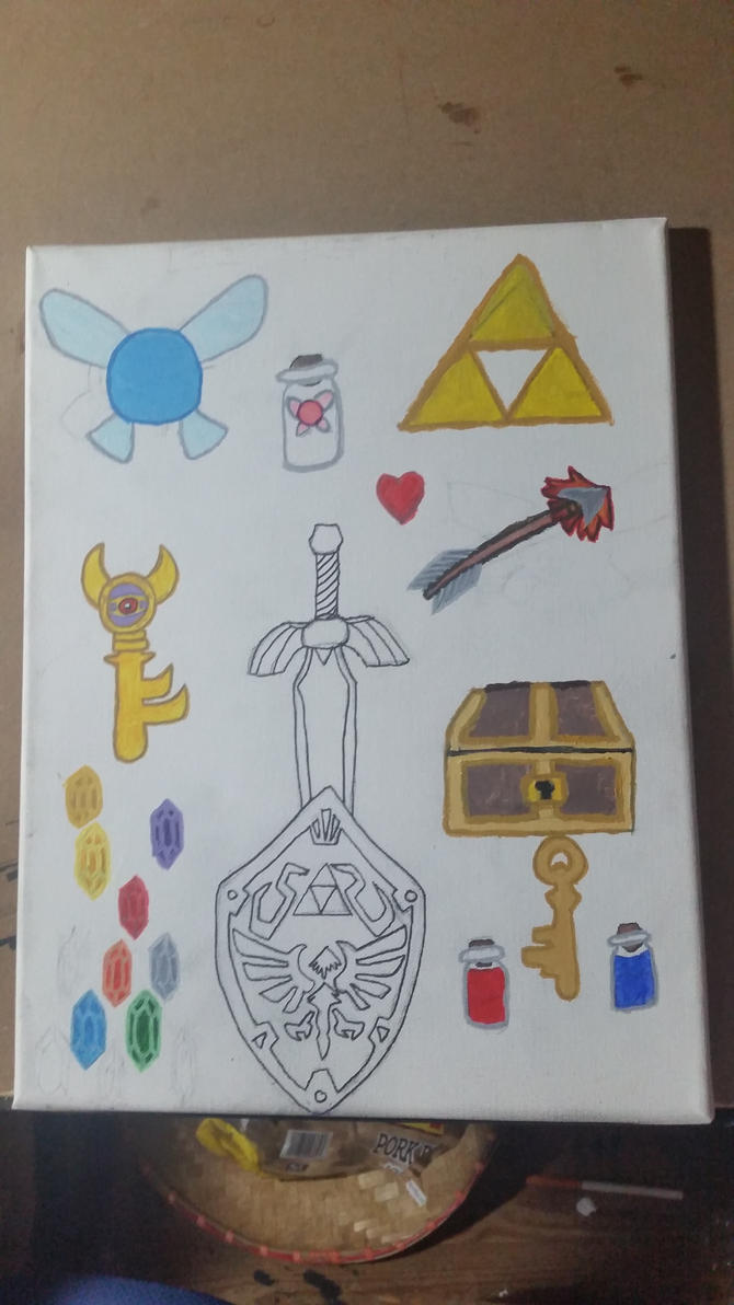 loz items painting by Jewel18656